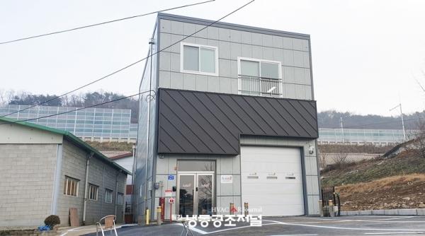 경기도 남양주시 송산로 152번길에 들어선 아성알앤지 본사 및 물류센터